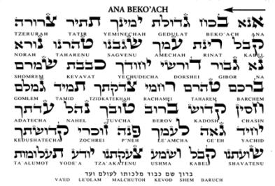 Ana Beko'ach
