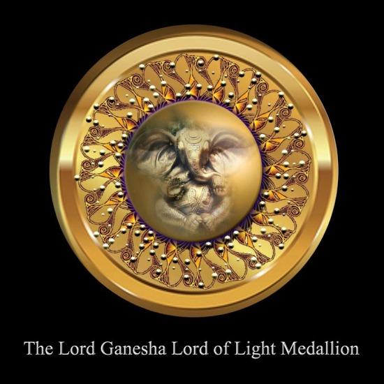 Lord Ganesha Medallion